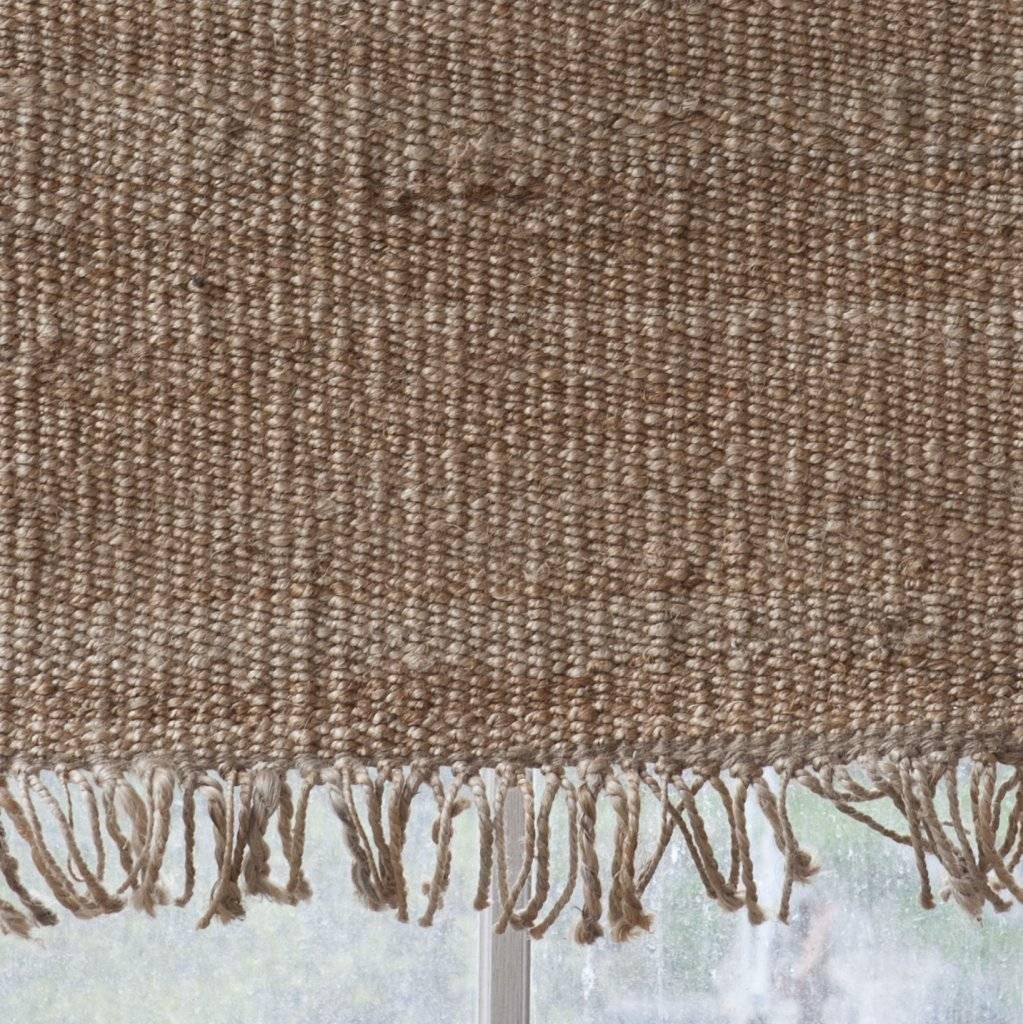 tell me more tapis toile de chanvre naturel 170x240cm tell me more