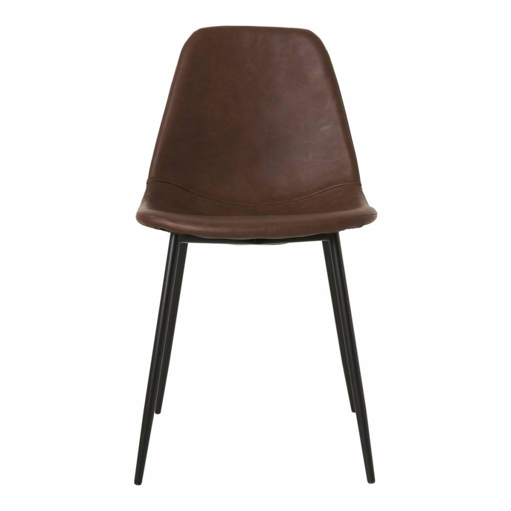 Scandinavian Chair Scandinavian Dining Chair Cognac Brown House Doctor