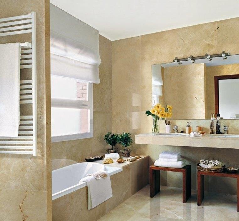 crema marfil marble stone tiles