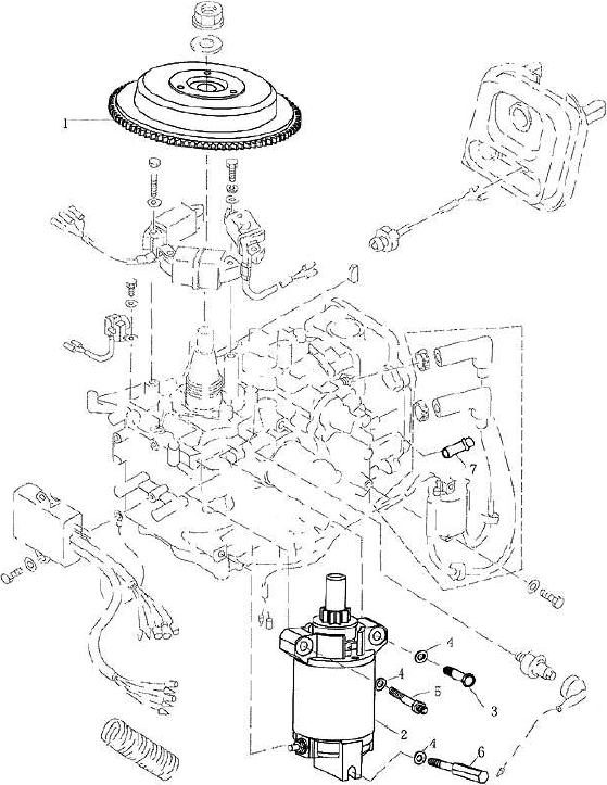 Yamaha F25 Outboard Wiring Diagram