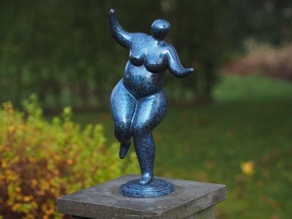 Dikke dame beeld brons Belle Mia  Eliassen Home  Garden
