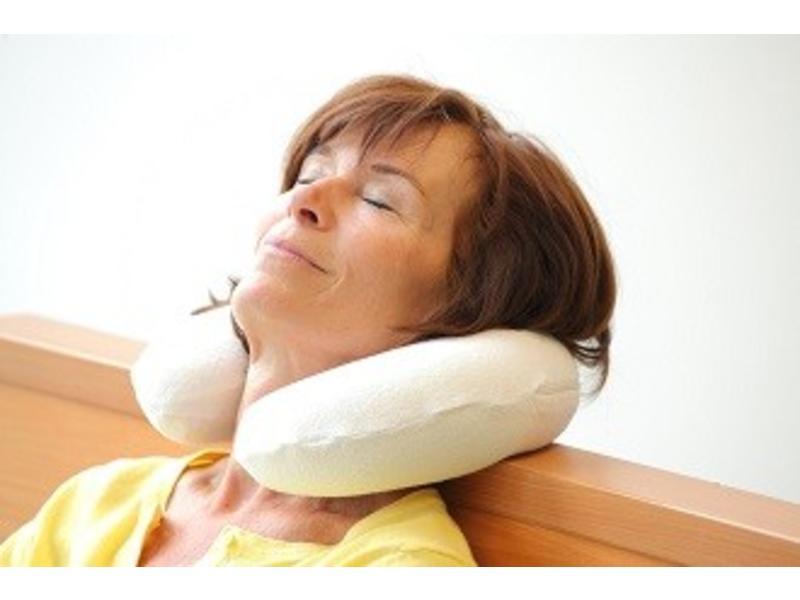 viscoelastic neck pillow