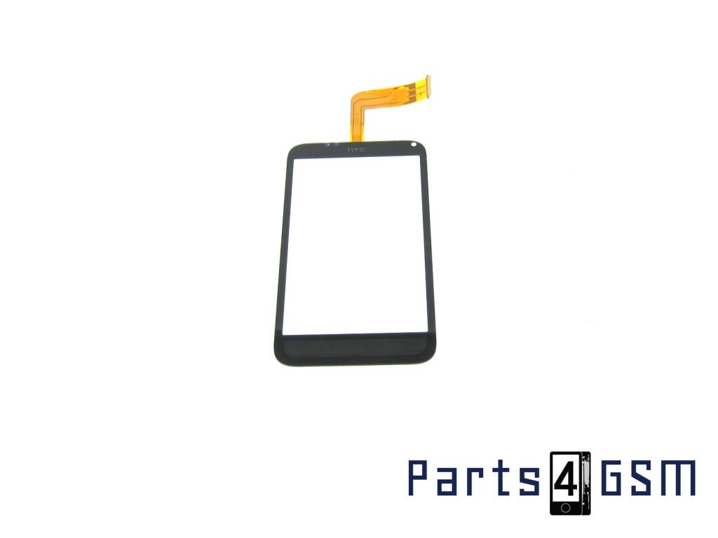 HTC Incredible S Digitizer Touch Panel Outer Glass Black