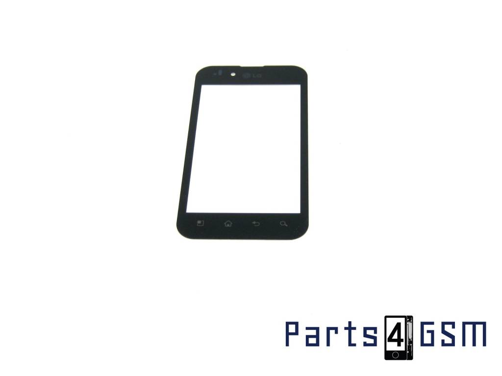 LG P970-Optimus Digitizer Touch Panel Outer Glass Black