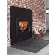 tapis de protection anti feu cheminee anthra