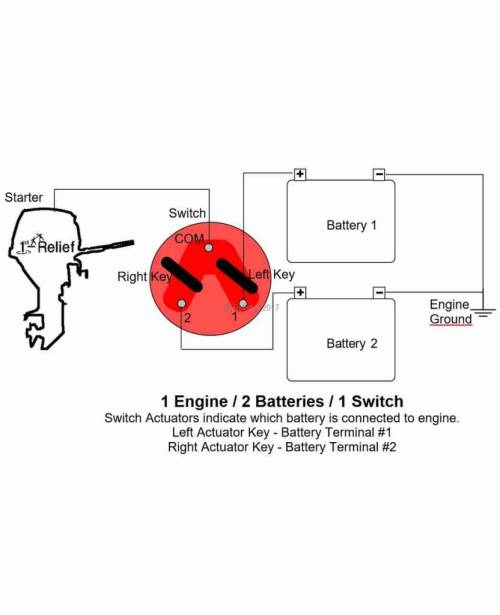 small resolution of  perko battery selector switch for 2 batteries
