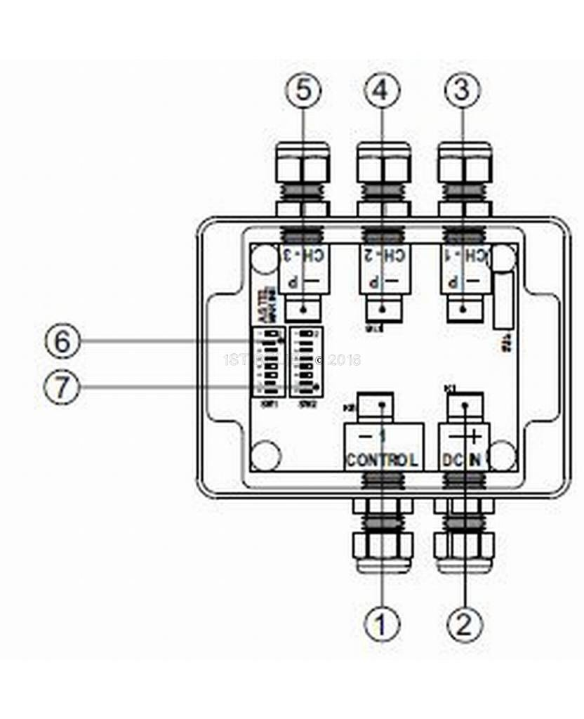 PWM Dimmer MoU13 for using with single color Equator and