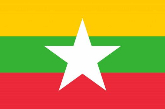 Myanmar flag icon - country flags