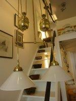 Antike Lampen, Zuglampen, alte Leuchten