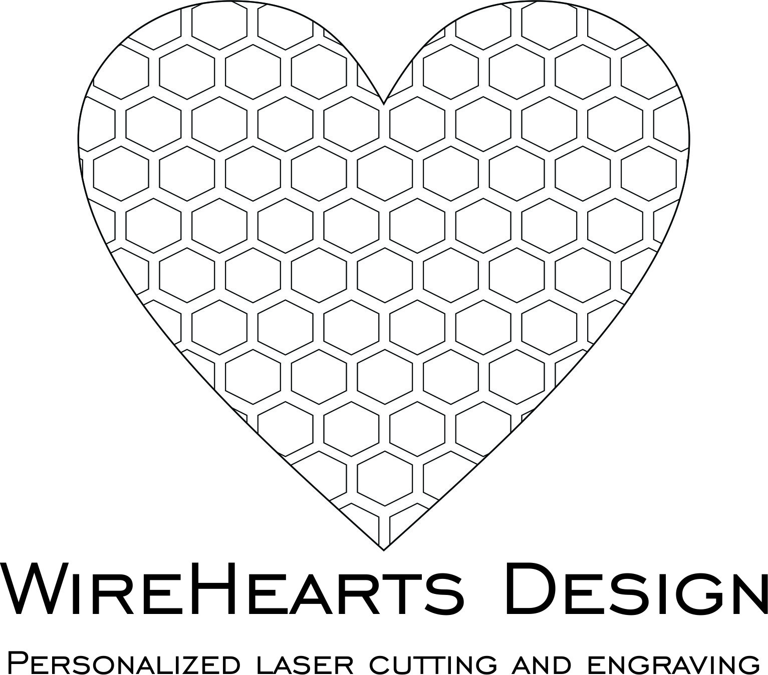 WireHearts Design Personalized laser engraving
