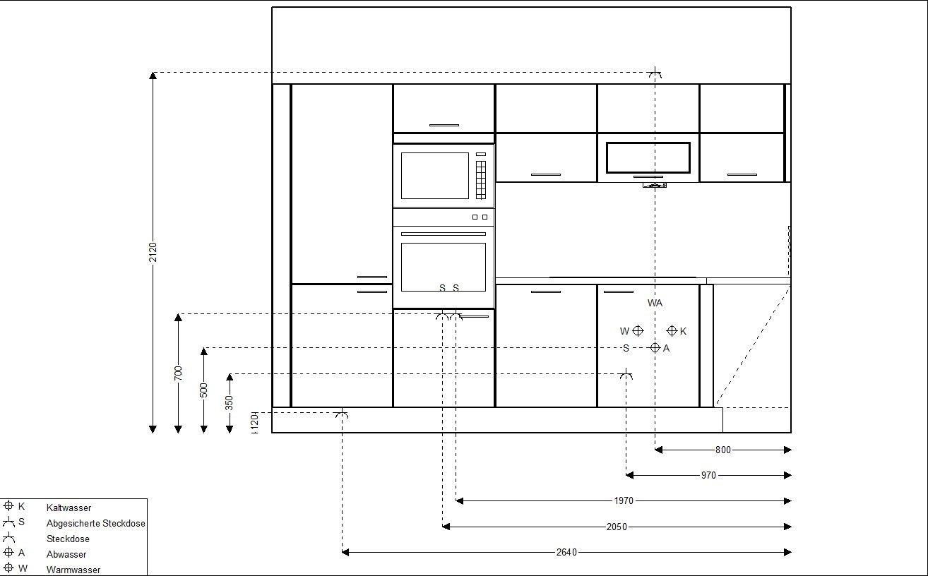 Installationsplan Küche Erstellen  Smeg München20 - Küchen-info
