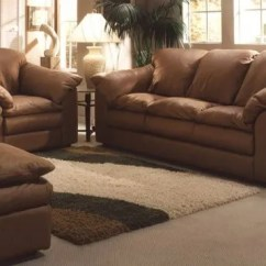 Leather Couch And Chair Toddler Table Chairs Ikea Furniture Tukwila Wa Hayek S Inc Oregon Sofa In