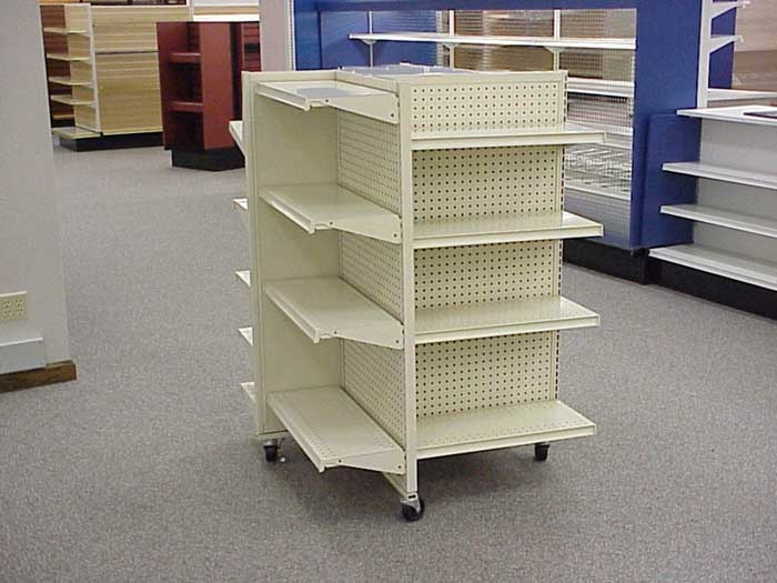 36 Casters Shelving 54 X X 24
