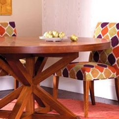 Just Chairs And Tables Slipcovered Dining Chair Ardmore Pa Dinec Table With Pattern Furniture In