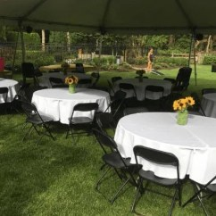 Rent Tables And Chairs Nj Sling Chair Replacement Fabric Outdoor Furniture Table Rentals Glassboro Masso S Catering Round
