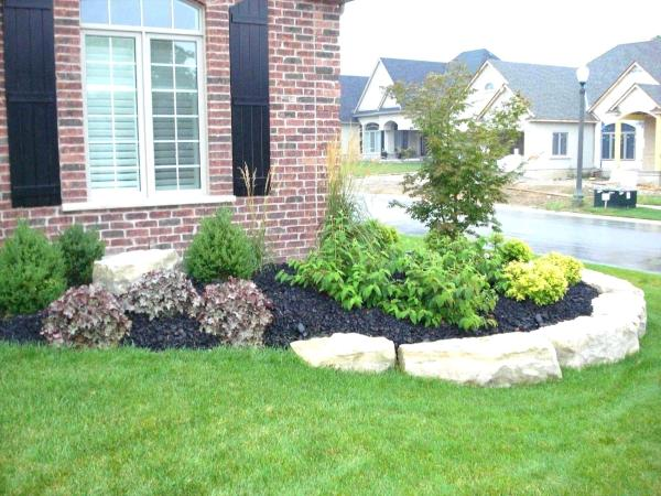 landscaping ideas front yard curb