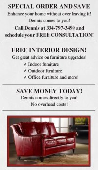Home Furnishings Dothan, AL - Dennis Lee Furniture