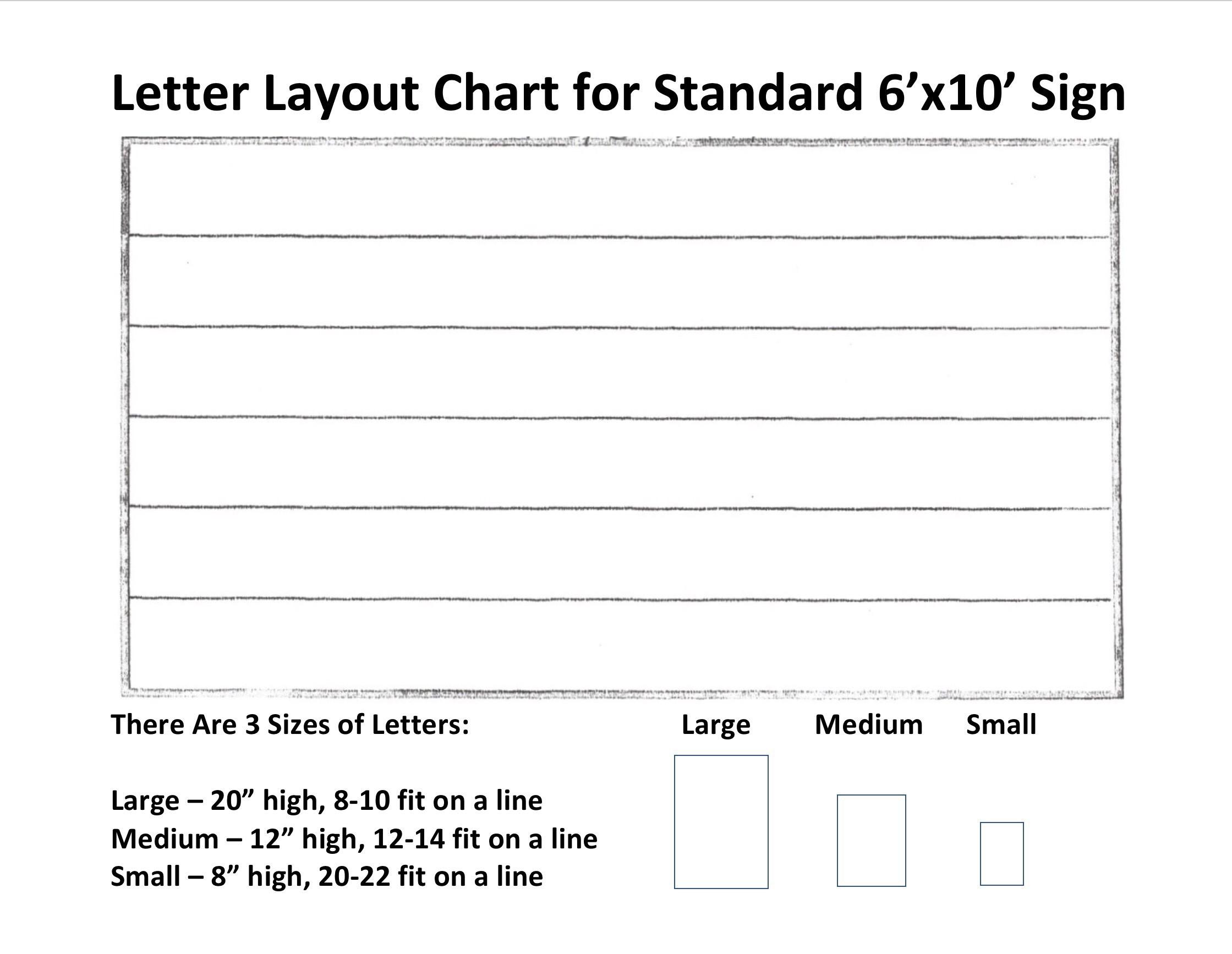 Scott S Signs Inc Configure Your Sign Form
