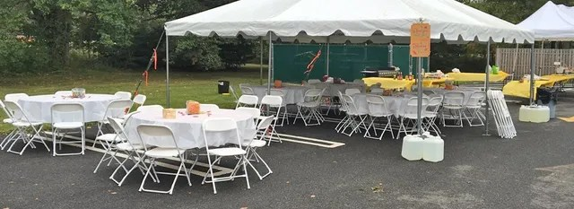 rent tables and chairs nj whicker dining table rental chair bergenfield party