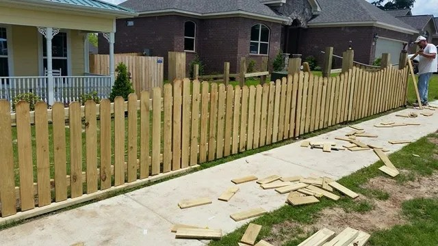 wooden fence fence bryant