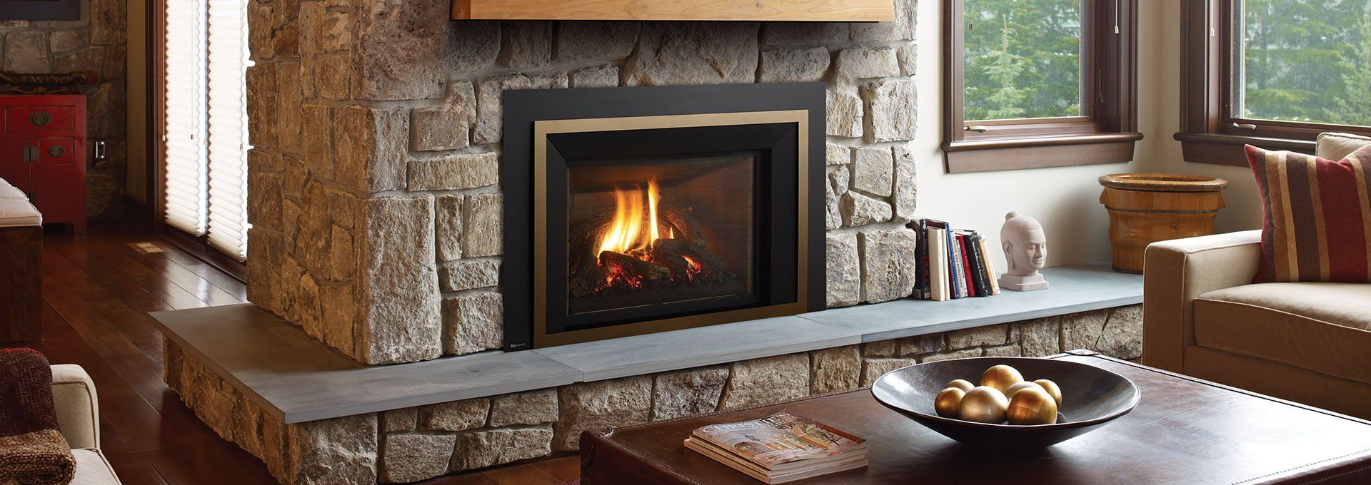 Install Gas Fireplace In Existing Home Gas Fireplace Inserts | Fireplaces | Robbinsville, Nj