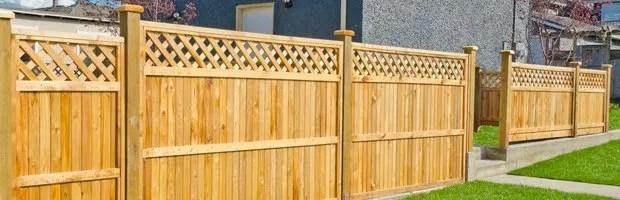 wood fences pickets mason
