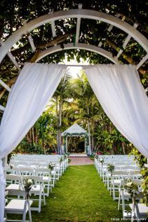 Bahia Resort Hotel San Diego Wedding