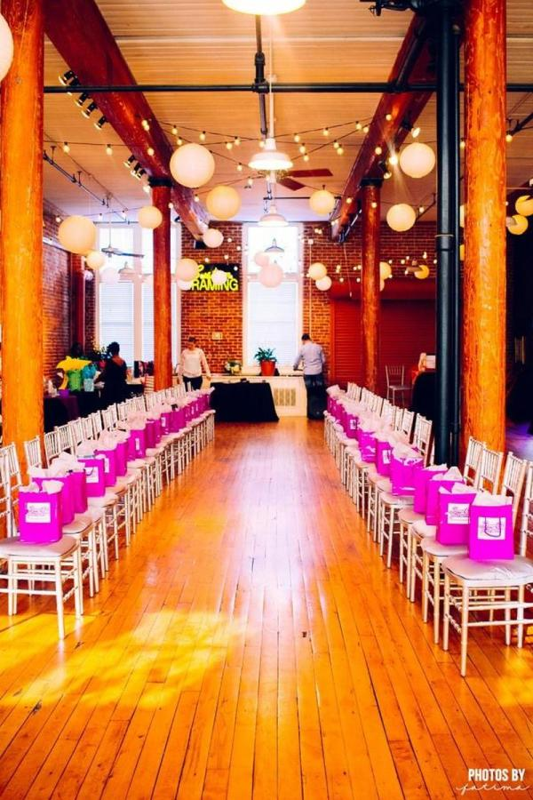City Art Columbia SC Wedding