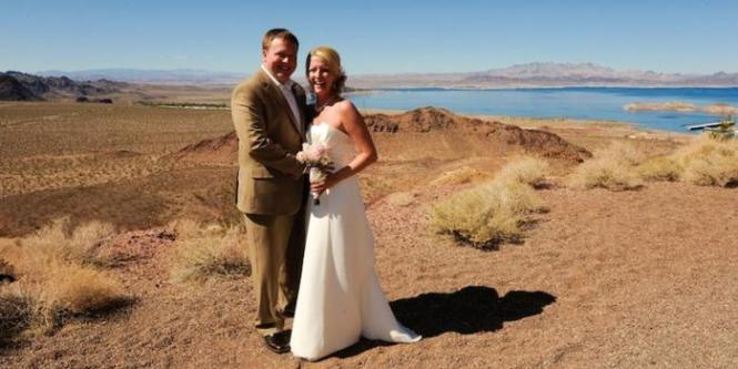 Westin Lake Las Vegas Wedding Black And White