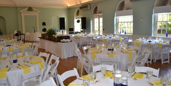 The Logan Philadelphia Wedding Setup