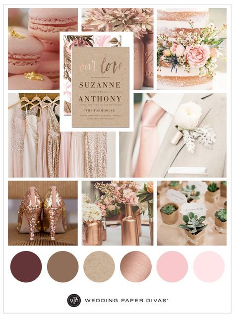 Color That Compliment Rose Gold
