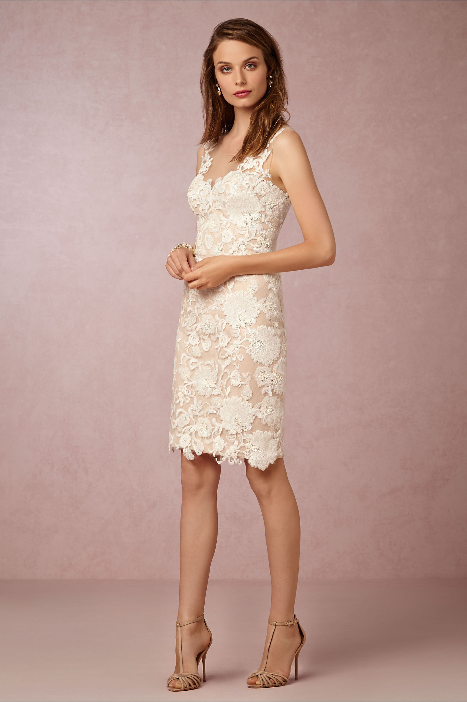 Short Sheath Wedding Dresses