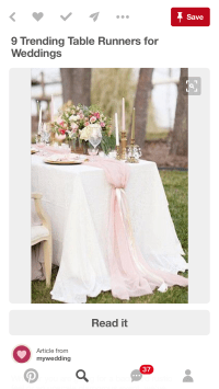 Cheesecloth for table runners?