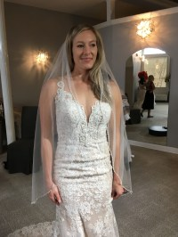 Is my wedding dress too revealing?