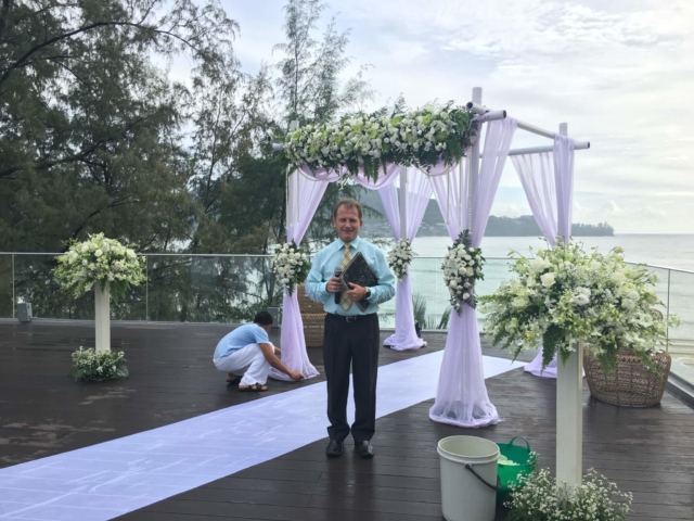 Wedding Celebrant Phuket Thailand