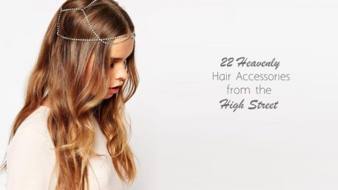 22 heavenly wedding hair accessories from the high street