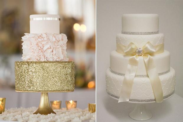 14 Amazing Wedding Cakes For A Winter Wedding