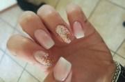 pretty pink bridal nail art ideas