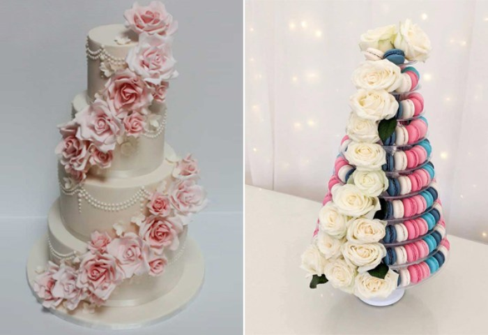 13 Fab Wedding Cakes With Flowers Weddingsonline