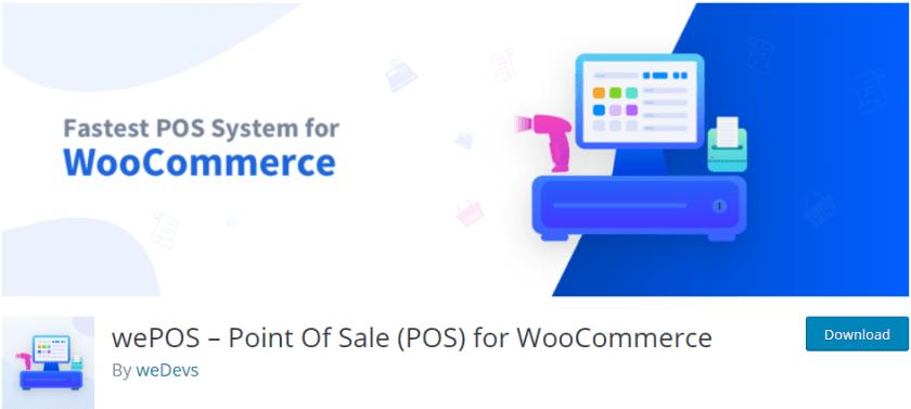 wePOS- best woocommerce pos