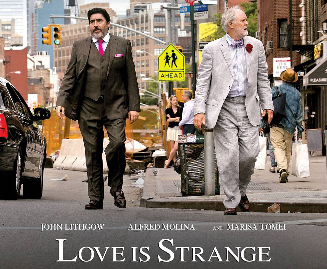 LIS Poster1 CONTEST: Win A Signed Poster From The Cast Of Love Is Strange!