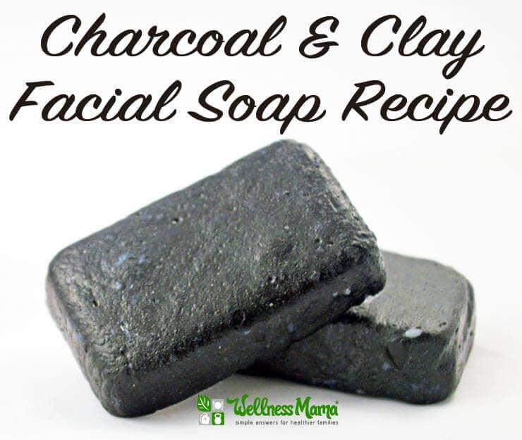Charcoal Amp Clay Facial Soap Recipe Wellness Mama