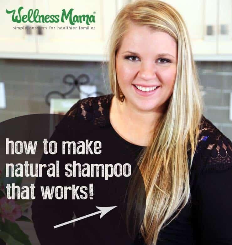 How to Make Homemade Shampoo  Wellness Mama