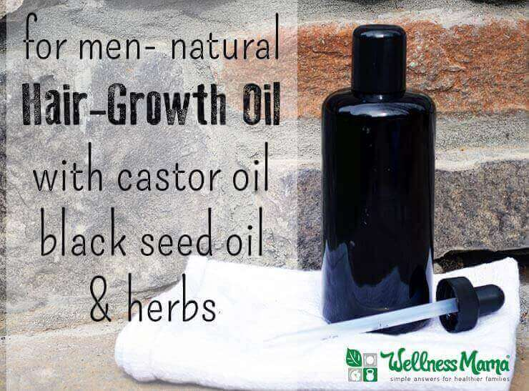 Natural Hair Growth Oil For Men Wellness Mama