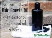 natural hair growth oil men