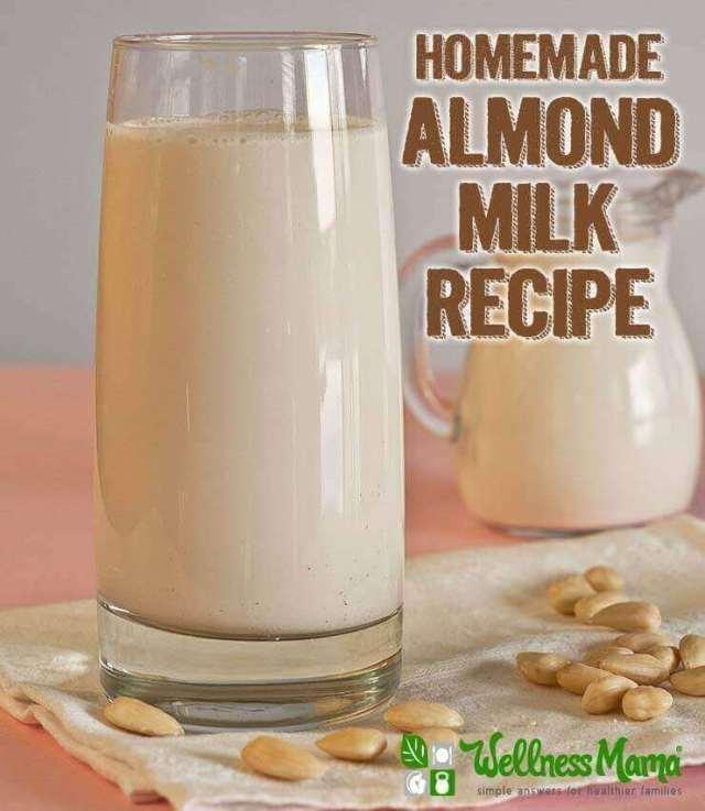 Simple Homemade Almond Milk Recipe
