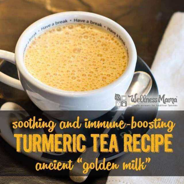 Soothing and Immune Boosting Turmeric Tea Recipe - Golden Milk Recipe