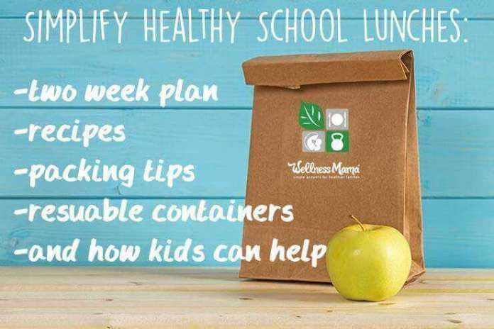 Tips to simplify healthy lunches with a two week plan recipes and packing tips