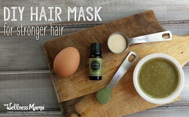 DIY Hair Mask for Stronger Hair