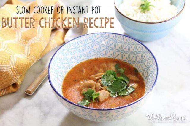 Instant Pot Butter Chicken Recipe